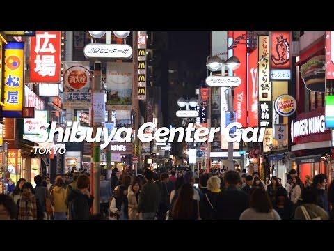 Shibuya Center Gai,Tokyo | Japan Travel Guide