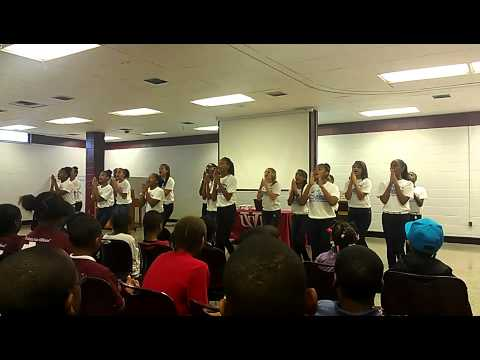 Brookland middle school cheerleaders