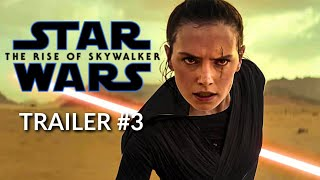 Star Wars 9: The Rise of Skywalker - FINAL TRAILER - Daisy Ridley, Adam Driver (CONCEPT)