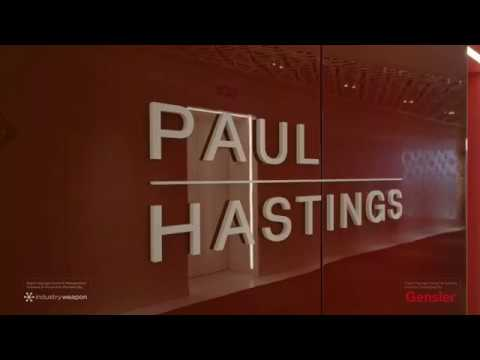 Law Firm Paul Hastings' Lobby of the Future
