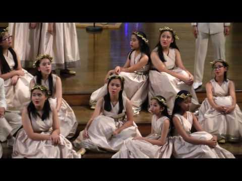 Lullaby, composed by Daniel Elder - The Resonanz Children's Choir, Indonesia