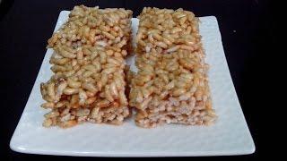 Crispy Murmura Chikki (Puffed Rice) by Kalpana Talpade