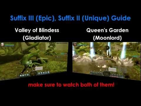 Dragon Nest SEA - Suffix III (Epic), Suffix II (Unique) General Guide ~ !