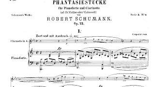 Robert Schumann: Drei Fantasiestücke Op. 79 (1849), clarinet and piano