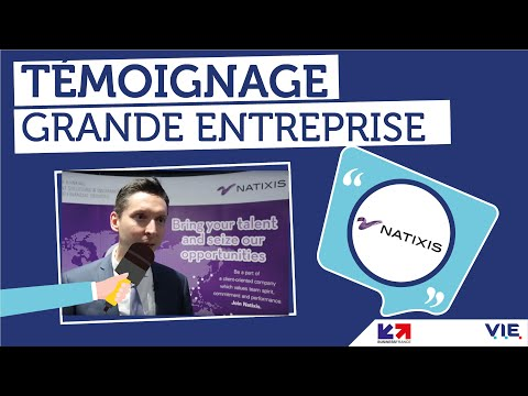 [Forum V.I.E 2016] Témoignage : Bastien Bonnefoux, chargé RH et V.I.E chez Natixis