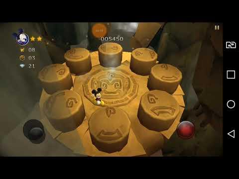 Castle of illusion #5 (LG X POWER)SEGUNDO E TERCEIRO BOSS. Mickey ousado
