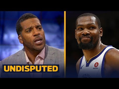 Jim Jackson reacts to Durant leading the Warriors past LeBron's Cavs in Game 3 | NBA | UNDISPUTED