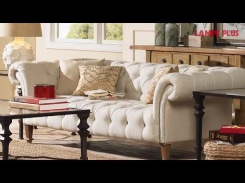 Small Living Room Ideas - Interior Decorating Tips - Lamps Plus