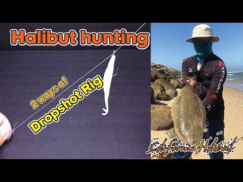 Halibut Fishing Setup Ep1. Dropshot Rig / Works Well On Slow Days /even Big Size Halis 광어낚시 채비 대물광어도