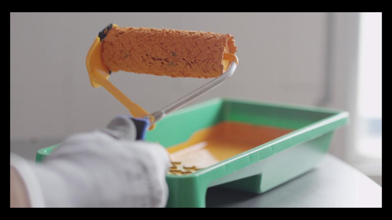 Apprenez rechampir professionnellement avec le mini - Rouleau a rechampir ...