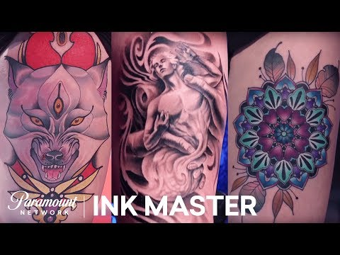 7dcff7087240c The Live Tattoos Are Revealed! | Ink Master: Shop Wars (Season 9) - YouTube