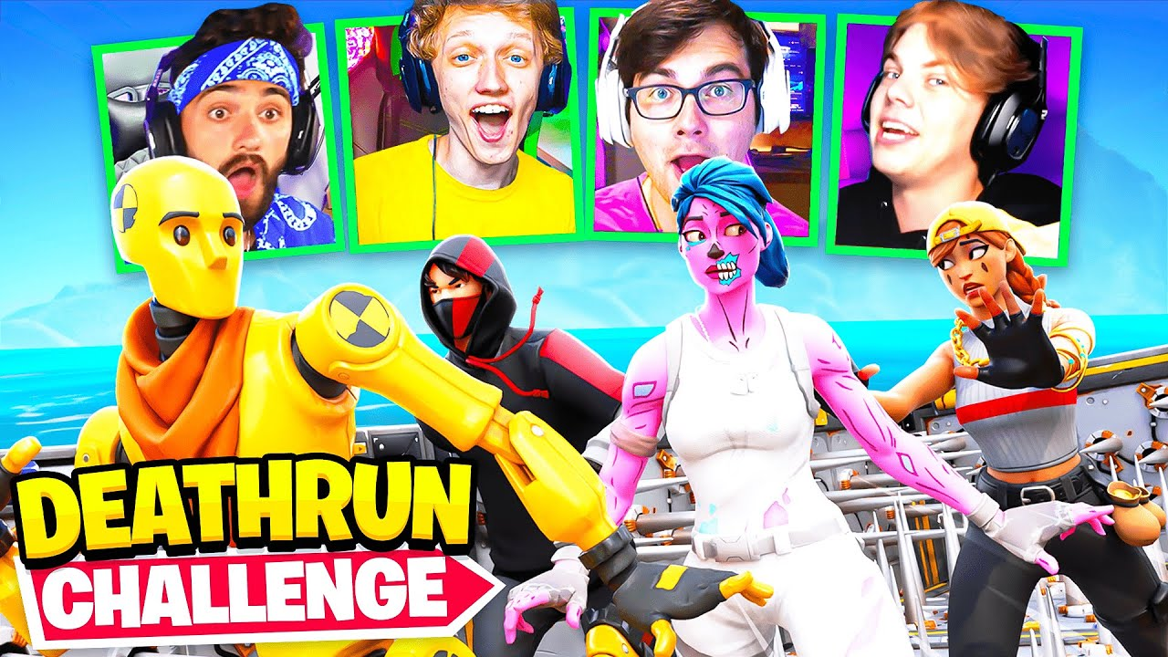 Download One Percent Fortnite Deathrun Race Challenge!