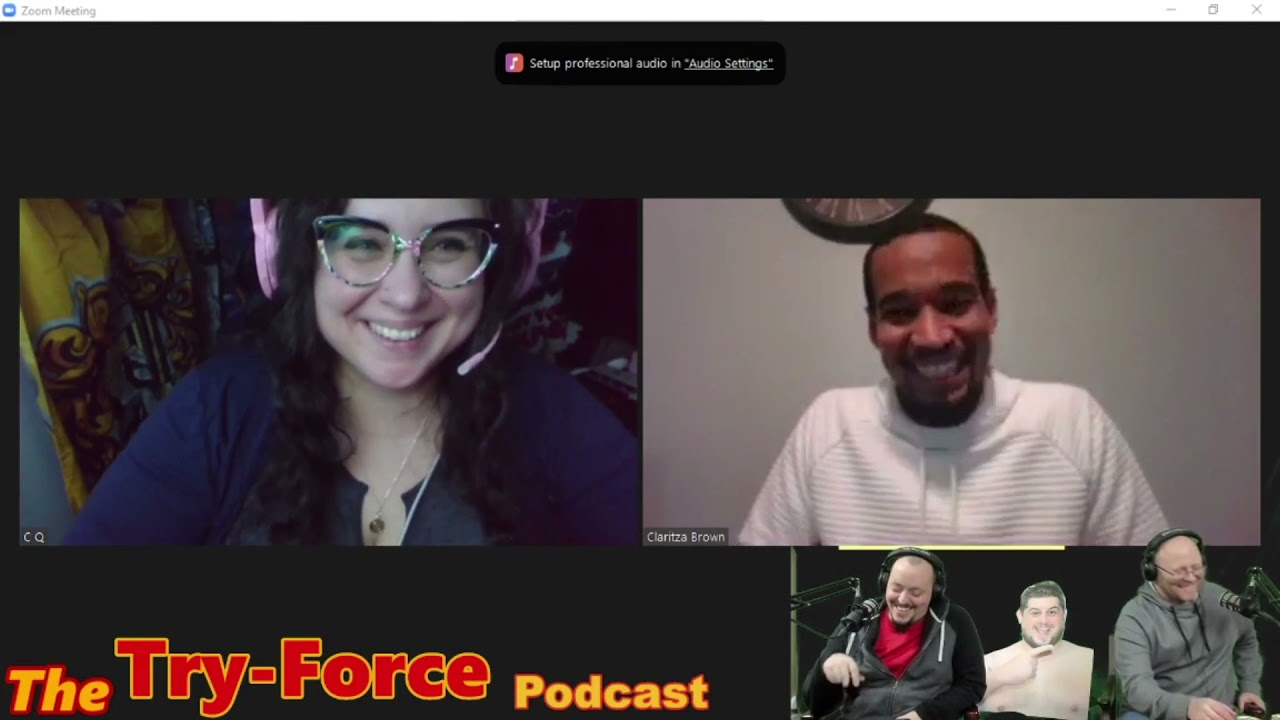 #210 Try-Force Podcast: Thickboy Rancor Green Lantern of Reality with Tony Brown