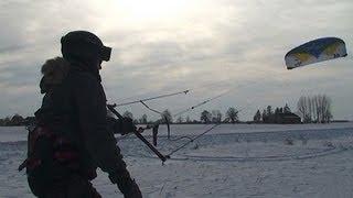 Snow Kite - zimowa jazda z latawcem