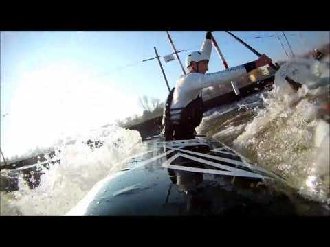 Canoe Slalom, Prague, Гребной Слалом, Гребной канал в Праге, река Влтава