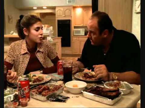The Sopranos - Italian Dinner Discussion