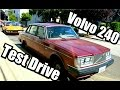 TEST DRIVE Volvo 240 FOR SALE 1983 5 speed 92K miles
