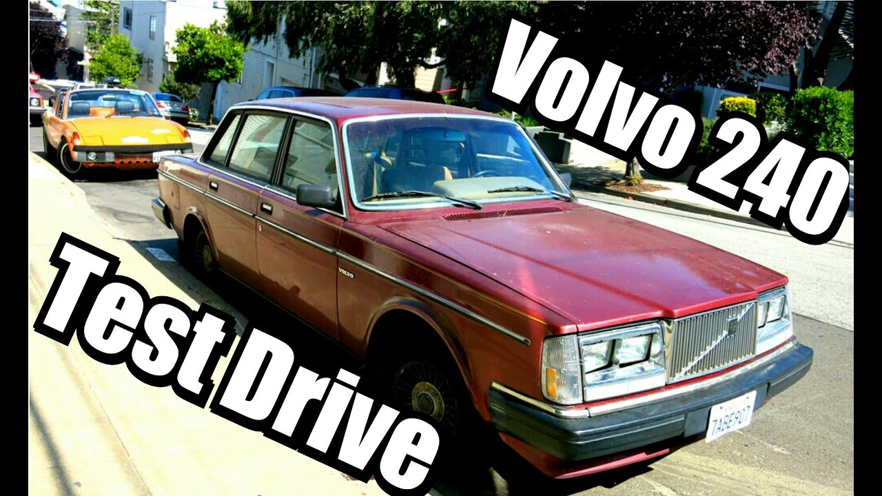 TEST DRIVE Volvo 240 FOR SALE 1983 5 speed 92K miles - YouTube