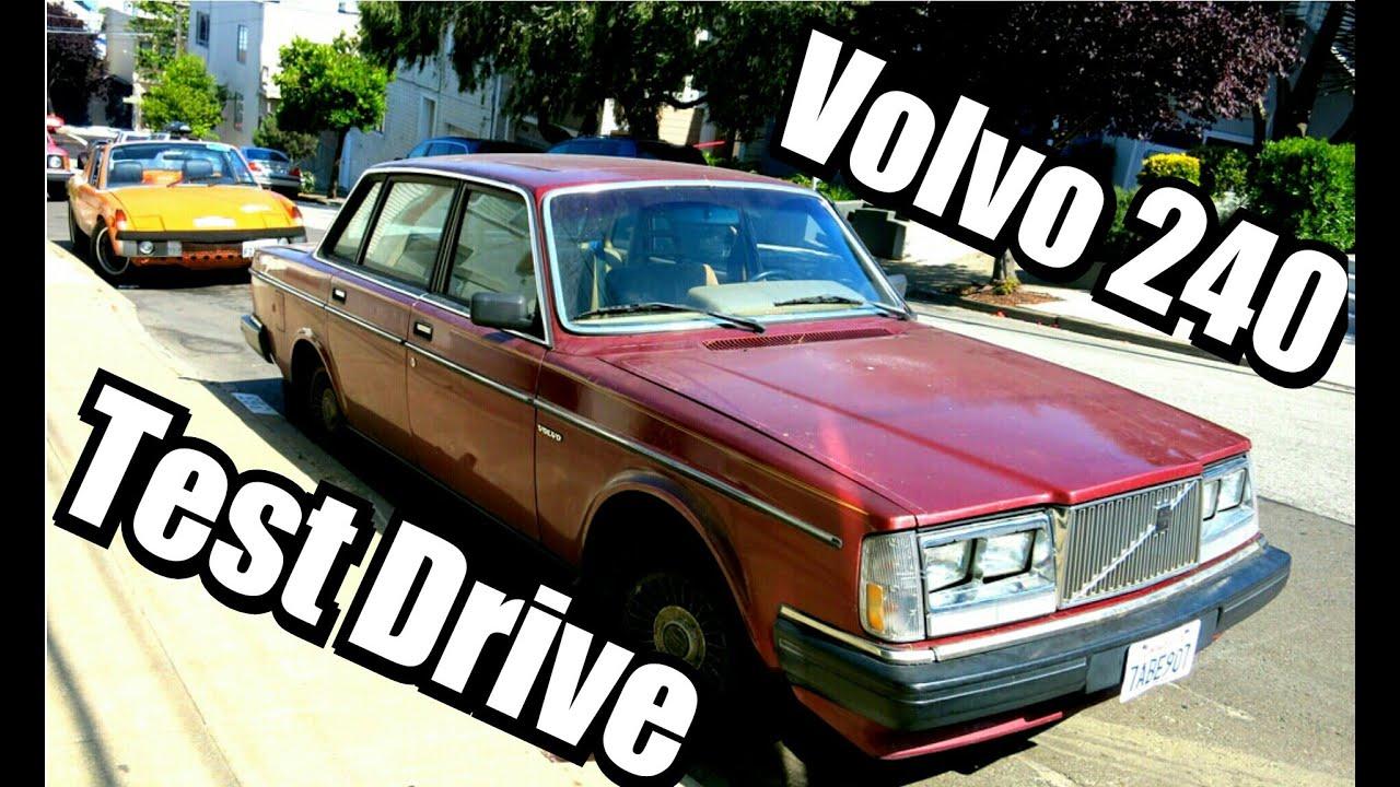 test drive volvo 240 for sale 1983 5 speed 92k miles youtube. Black Bedroom Furniture Sets. Home Design Ideas