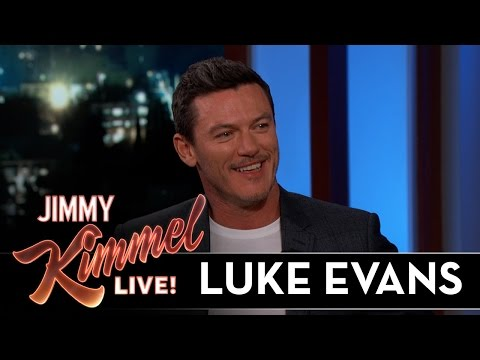 Luke Evans on Playing Gaston in Beauty and the Beast