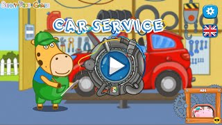Hippo Car Service : Sunny Kids Games