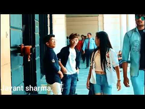 Sona Sona mukhda || yo yo honey singh song . || cute love story || boy & girl ||.