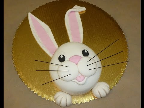 How To Make A Rabbit Cake For Easter