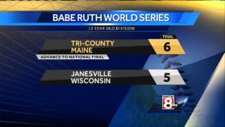 Tri County advances to 13 year old Babe Ruth World Series title game