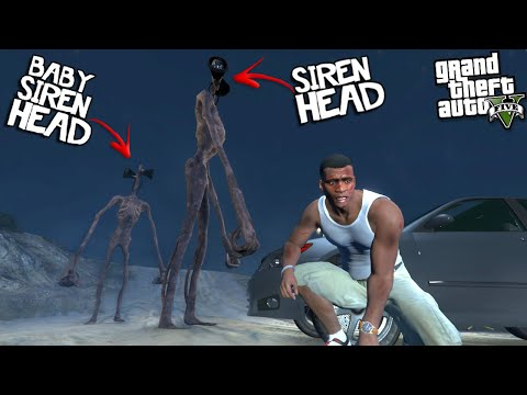SIREN HEAD had a BABY in LOS SANTOS (GTA 5 Mods)