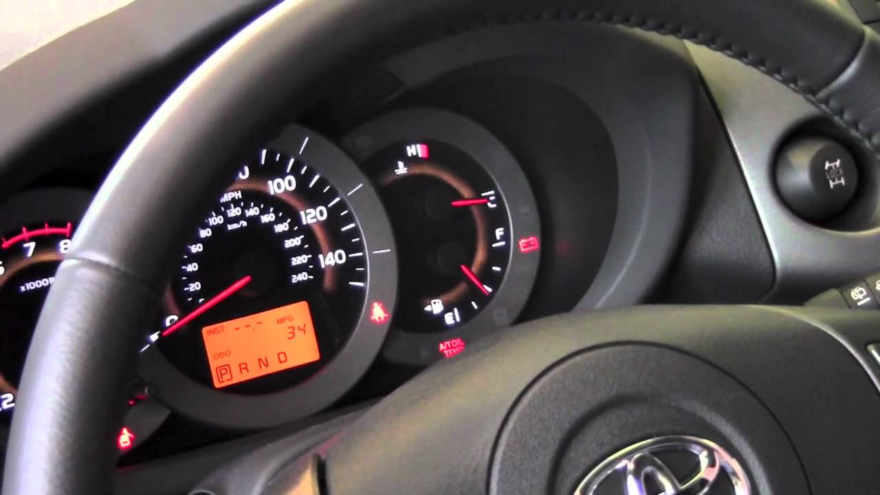 2011 Toyota Rav4 Gauge Light Controls How To By