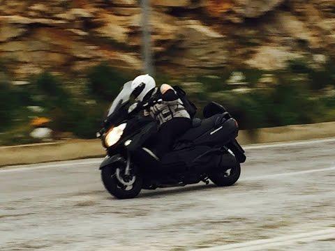 Suzuki Burgman 650 ABS Executive Test-ride