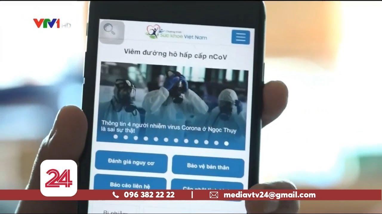 Phần mềm sức khỏe phục vụ chống dịch viêm đường hô hấp cấp | VTV24