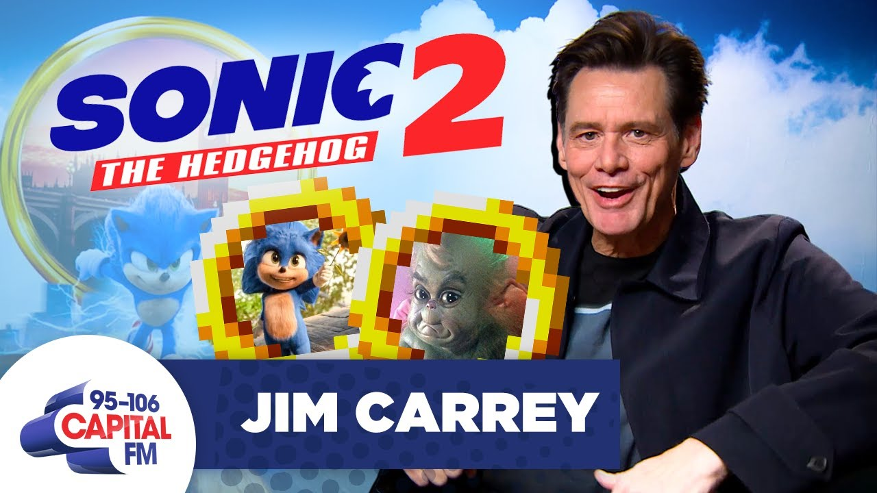 Jim Carrey On Sonic The Hedgehog Sequel, & Baby Grinch vs Baby Sonic