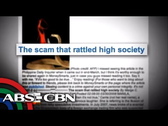 On The Money 10 Biggest Scams In Ph Youtube