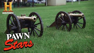 Pawn Stars: Explosive Deal for Twin Signal Cannons (Season 16) | History