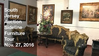 November 27, 2016 Sideline Furniture Tour - South Jersey Auction