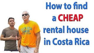 CHEAP Living in Costa Rica It's Possible