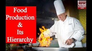 Food Production Department II Hierarchy of Kitchen II Roles & Responsibilities