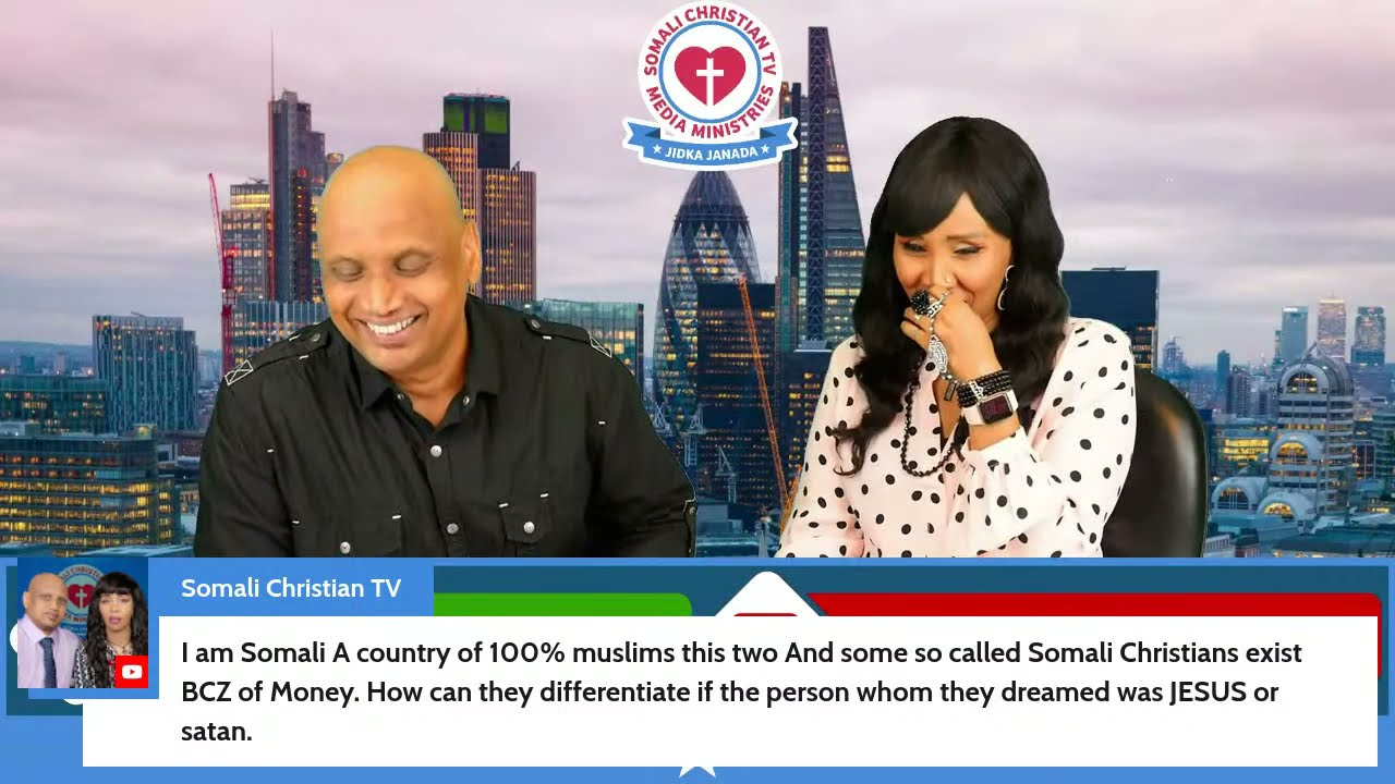 ANSWERING HATE COMMENTS TOWARDS US @Somali Christian TV From MUSLIMBYFORCE: