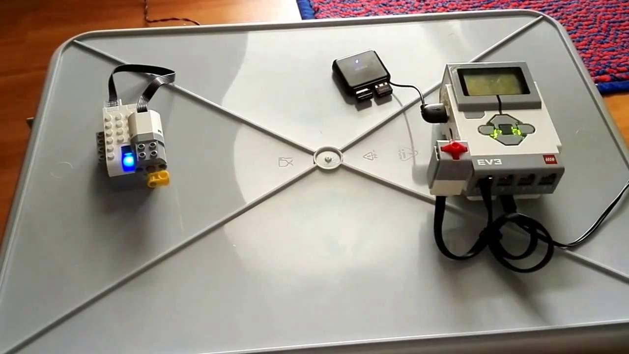 Lego Mindstorms Ev3 Controlling Wedo 2 0 Motor Youtube