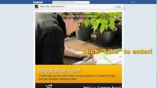 WeBuzz Registration Form
