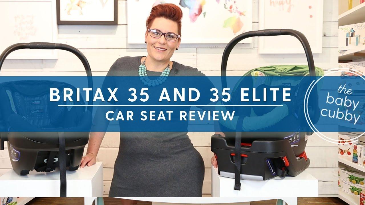 Britax B Safe 35 Elite Infant Car Seat Review