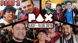 """CHILLING WITH FRIENDS + NINTENDO COMMUNITY"" - PAX East 2019 (AbdallahSmash, GalacticElliot + MORE!)"