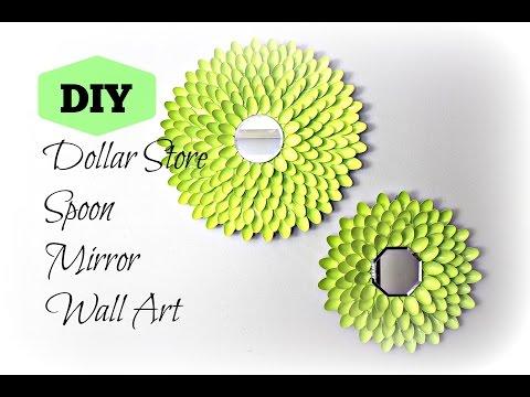 DIY: Spoon Mirror Wall Art | Under $10 !