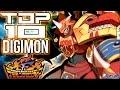 TOP 10 Digimon Generaci  n Frontier