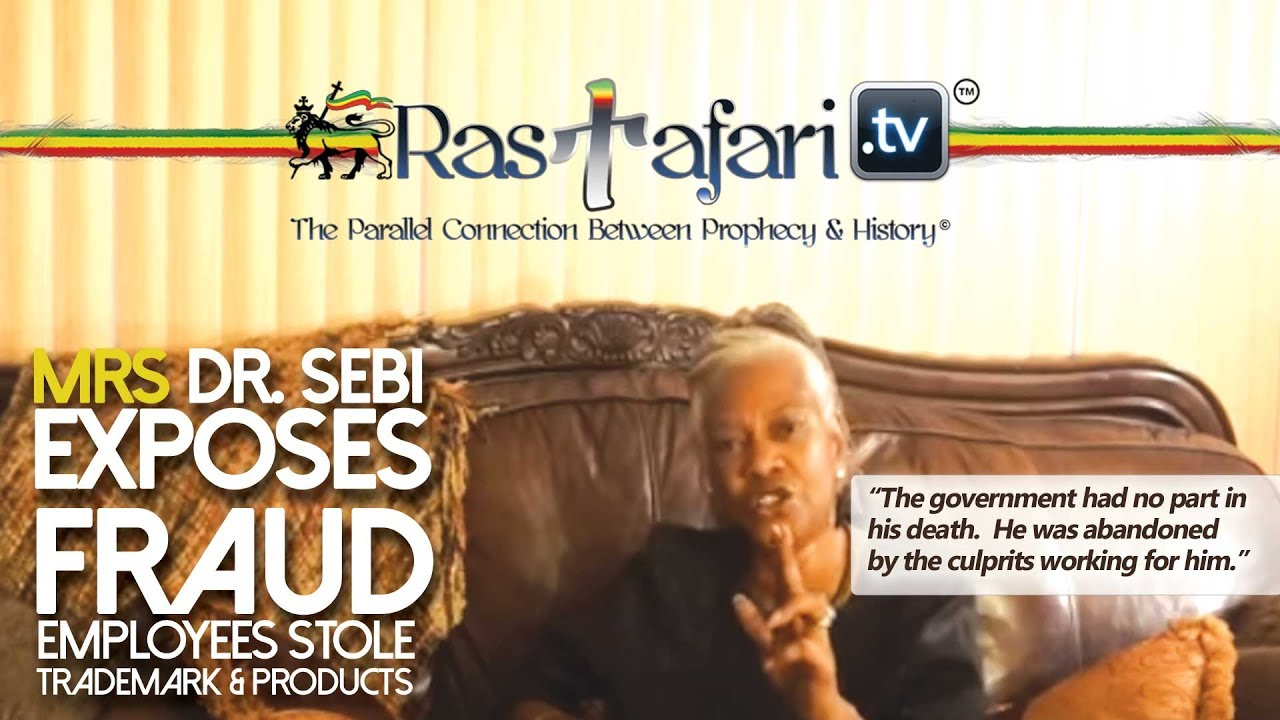 Mrs  Dr  Sebi Exposes Employees Stole Their Company & Trademark Products  Fraud