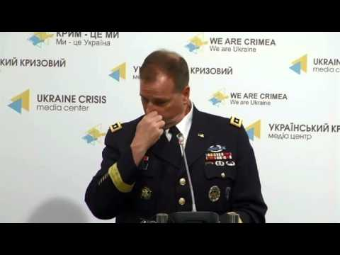 Lieutenant General Ben Hodges, USA. Ukraine Crisis Media Center, 19th of May 2015