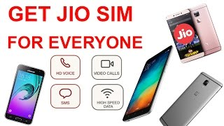 How To Get JIO SIM with Any 4G Phone? Generate Code,How To Activate,2GB To Unlimited, Full Solution(Hello Everyone in This Video i had showed you how to get jio Sim For all 4G Phones and how to Activate it as well as how to get Unlimited data and calls instead ..., 2016-08-24T06:07:09.000Z)