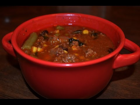 My Recipe For A Healthy Hamburger Soup That Will Keep You Warm On Cold Nights