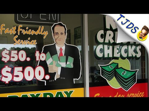 Democrats Join Payday Lenders To Screw Poor People